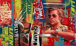 Once Upon a Time in Hollywood by Zinsky -  sized 34x21 inches. Available from Whitewall Galleries